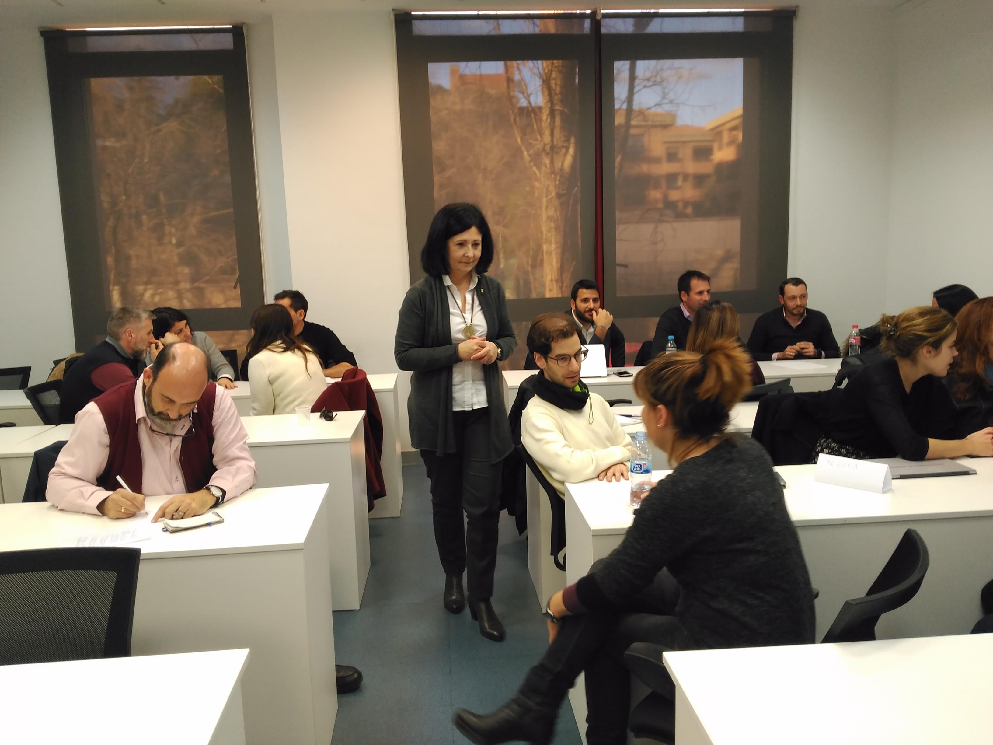 Alumnos en el curso Lenguaje No Verbal